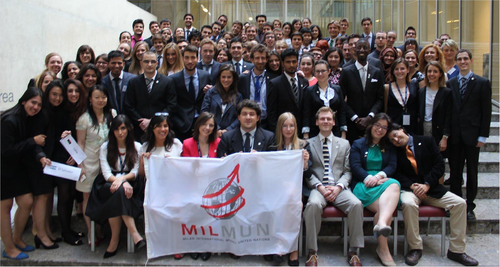 MILMUN 2014 Conference picture
